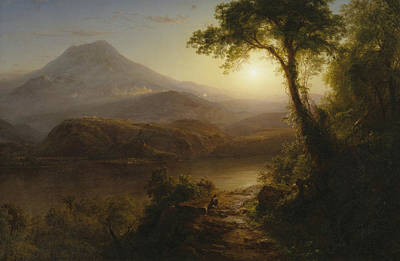 South American Jungle Painting - Tropical Scenery by Frederic Edwin Church