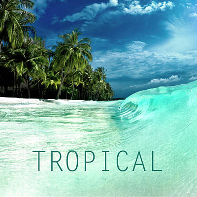 Tropical. Art Print