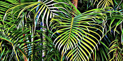 Photograph - Tropical Shapes by Tatiana Travelways