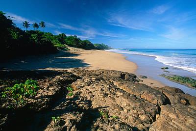 Aguadilla Photograph - Tropical Shoreline Borinquen Point Puerto Rico by George Oze