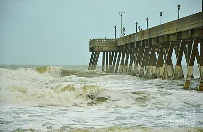 Photograph - Tropical Storm Ana 5 by Bob Sample