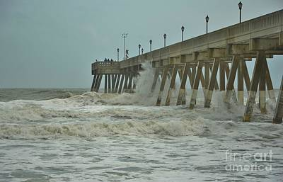 Photograph - Tropical Storm Ana 3 by Bob Sample