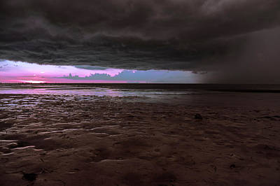 Beach Photograph - Tropical Storms by Michael Frizzell