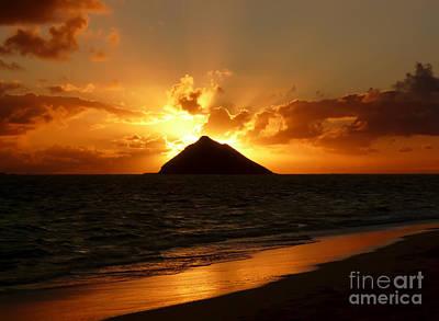 Photograph - Tropical Sunrise At Lanikai Beach. by IPics Photography