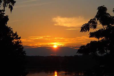 Photograph - Tropical Sunrise In Florida by Becky Erickson
