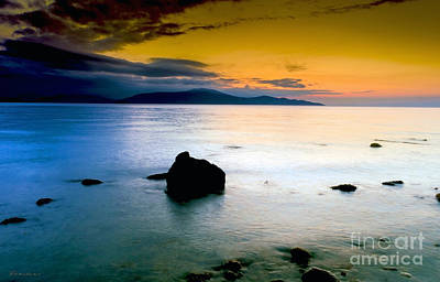 Photograph - Tropical Sunrise Seascape B4 by Ricardos Creations