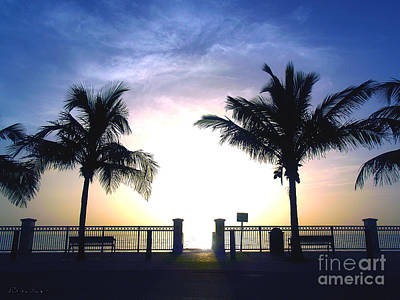 Photograph - Tropical Sunrise Sescape Vero Beach Florida B1 by Ricardos Creations