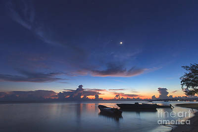 Photograph - Tropical Twilight by Charles Kozierok