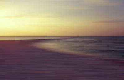 Photograph - Tropical Twilight On The Sandbank by Jenny Rainbow