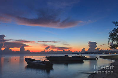 Photograph - Tropical Twilight Two by Charles Kozierok