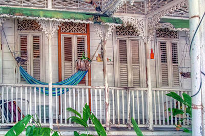 Photograph - Tropical Veranda by Nadia Sanowar