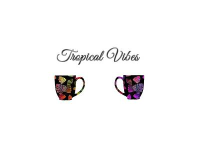 Digital Art - Tropical Vibes by Kathleen Sartoris