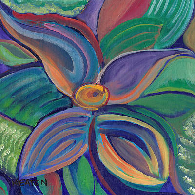 Art Print featuring the painting Tropical Vision by John Keaton