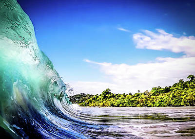Art Print featuring the photograph Tropical Wave by Nicklas Gustafsson