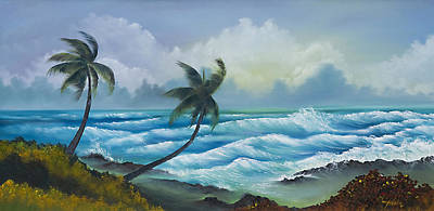 Tropical Wind Art Print by George Bloise