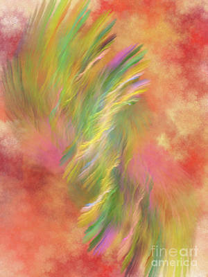 Digital Art - Tropical Winds by Donna Walsh