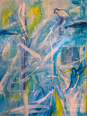 Mixed Media - Tropicana Bird 02 by Gallery Messina