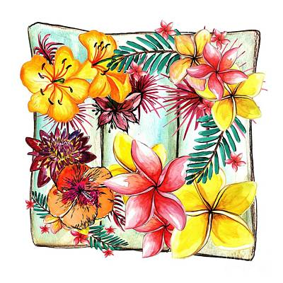 Tropicana By Kaye Menner Art Print by Kaye Menner