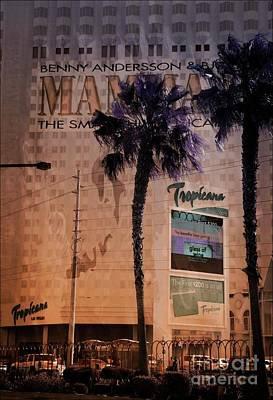 Mixed Media - Tropicana Las Vegas 2 by Bob Pardue