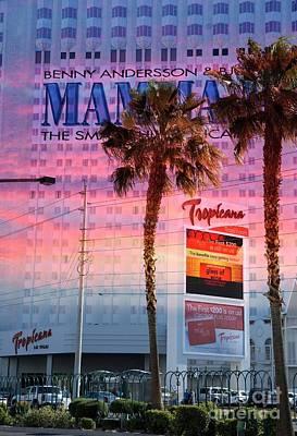Mixed Media - Tropicana Las Vegas by Bob Pardue