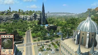 Architecture Digital Art - Tropico 4 by Maye Loeser