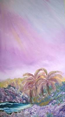 Tropics Art Print by Ellen Young