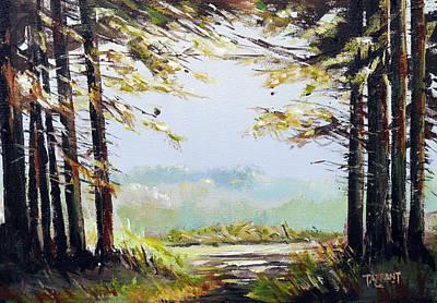 Scotland Painting - Trossachs Woodland, Scotland by Peter Tarrant