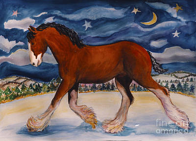 Painting - Trotting Pat by Cori Caputo