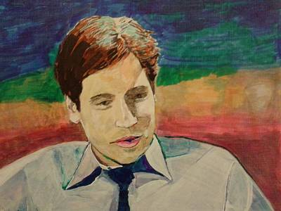 Mulder Art Print by Robert Walkama