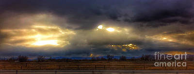 Photograph - Troubled Skies Over Idaho by Kip Vidrine