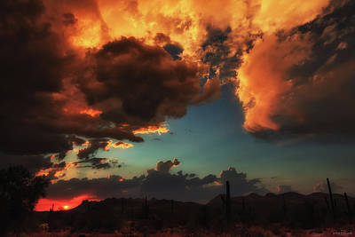 Photograph - Troubled Sky by Rick Furmanek