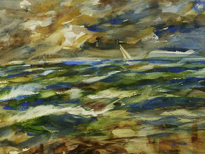 Painting - Troubled Waters by Carl Whitten