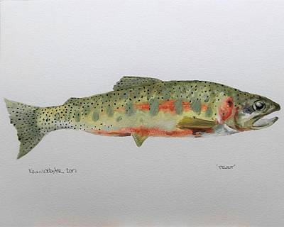 Trout Original by Kevin Webster