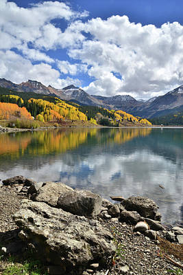 Photograph - Trout Lake In Fall by Ray Mathis