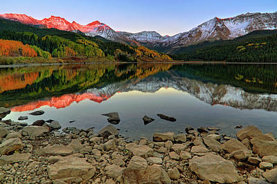 Photograph - Trout Lake Reflections - Colorado - Rocky Mountains by Jason Politte