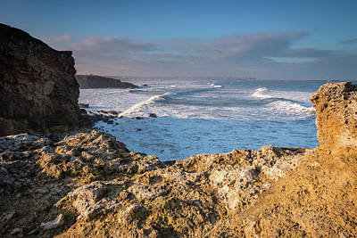 Trow Point At South Shields Print by David Head
