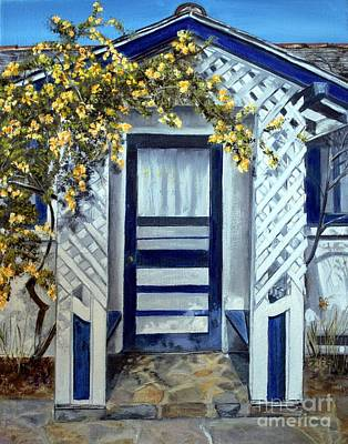Painting - Trowbridge House Triangle L Ranch, Oracle Az by Anna-maria Dickinson