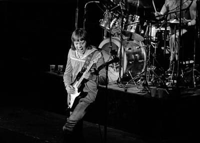 Photograph - Trower At Winterland by Ben Upham