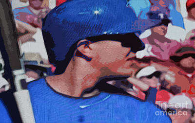 Digital Art - Troy Tulowitzki by Nina Silver