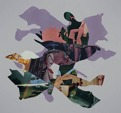 Self-portrait Mixed Media - Truce by Joe Castro