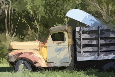 Photograph - Truck And Canoe by Donna G Smith