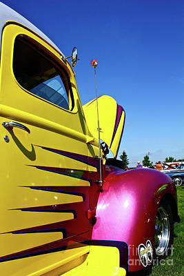 Mooneye Photograph - Truck Art by Linda Bianic