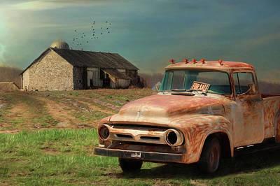 Digital Art - Truck For Sale by Lori Deiter