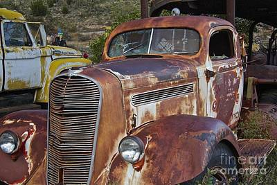 Salvage Photograph - Truck Hauler by Anthony Jones