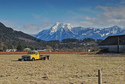 Photograph - Truck In Harison Mills by Hagen Pflueger