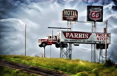 Photograph - Truck Stop by Bob Pardue