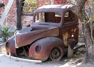 Photograph - Truck Torso by Doug Matthews