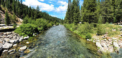 Photograph - Truckee River Toward Tahoe City by Joe Lach