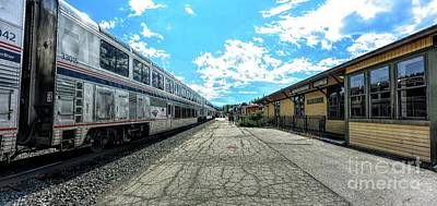 Photograph - Truckee Train Station by Joe Lach
