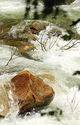 Photograph - Truckey River by Lori Mellen-Pagliaro